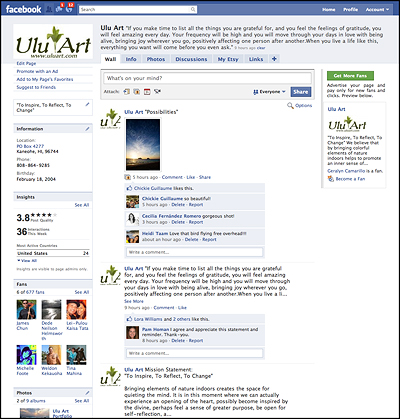 Ulu Art Fan Page